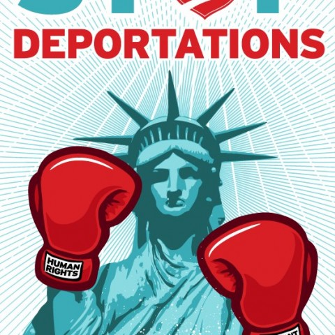 Cesar Maxit - Lady Liberty Stop Deportations