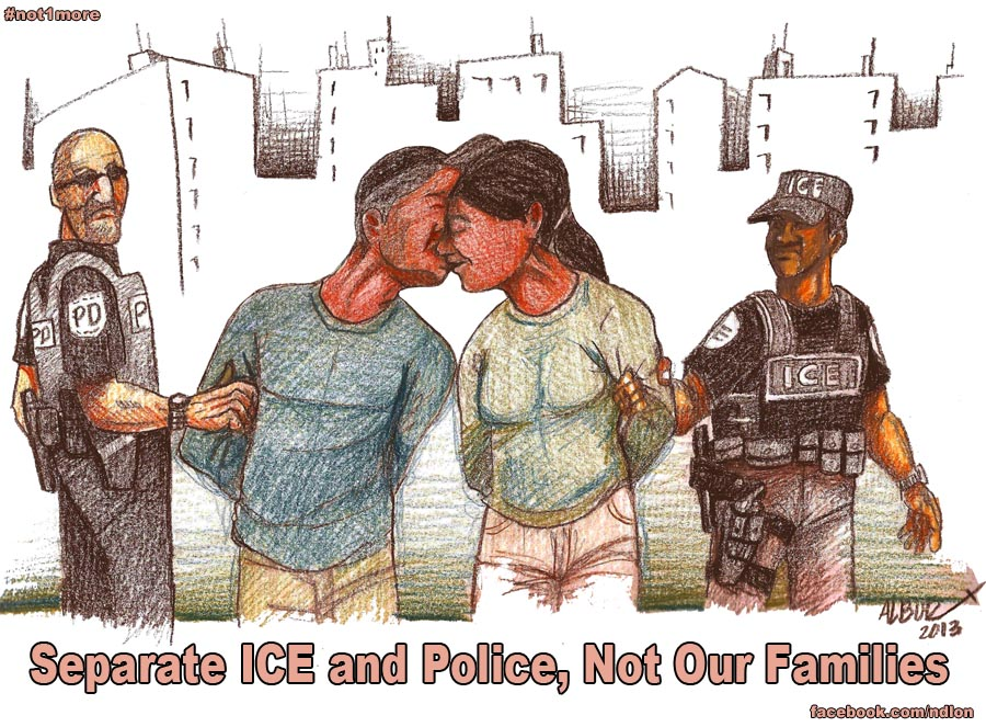 Separate Police and ICE - Burgos