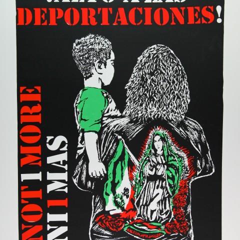 ¡ALT O A LAS DEPORTACIONES! by Gilda Posada