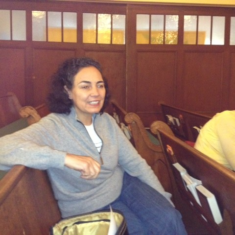 Maria Marroquin - Presentation at UU Church in San Mateo