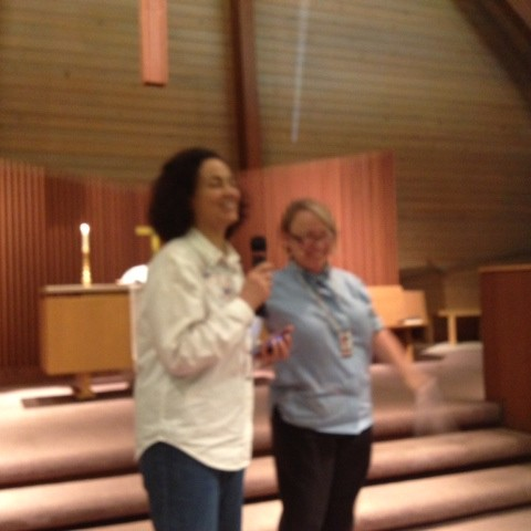 Maria Marroquin & Pastor Anne