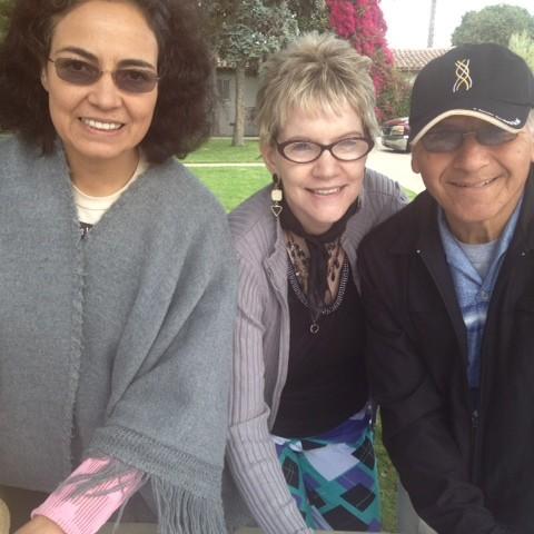 Maria, Christine, Marco