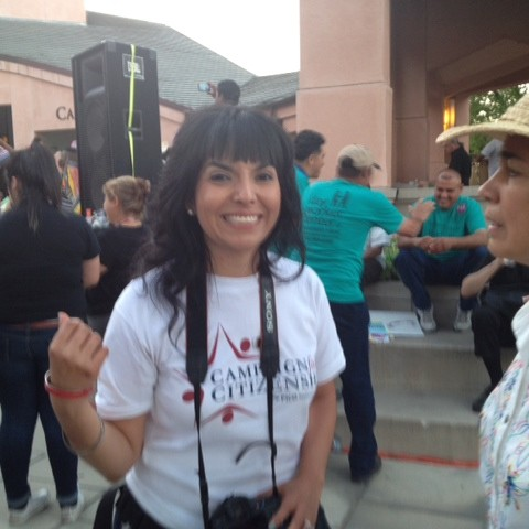 Nadia Sigona & Maria Marroquin at Mtn View Rally