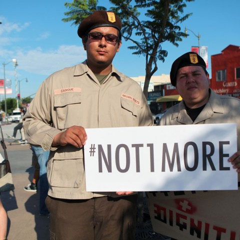 Eastside Rally for Trayvon Martin 33