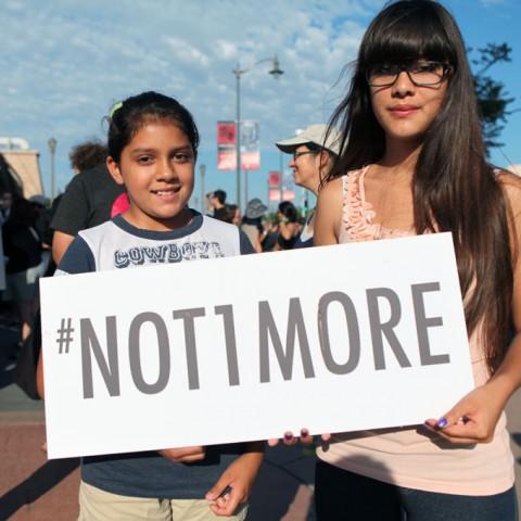 Eastside Rally for Trayvon Martin 43
