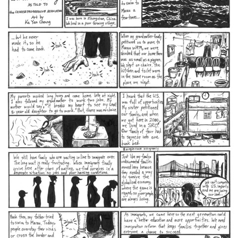 Ka Yan Cheung English Comic Strip