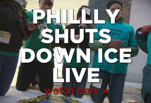 Juntos Shuts Down ICE Office in Philadelphia