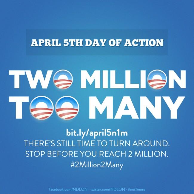 Two Million Too Many Social Media Image