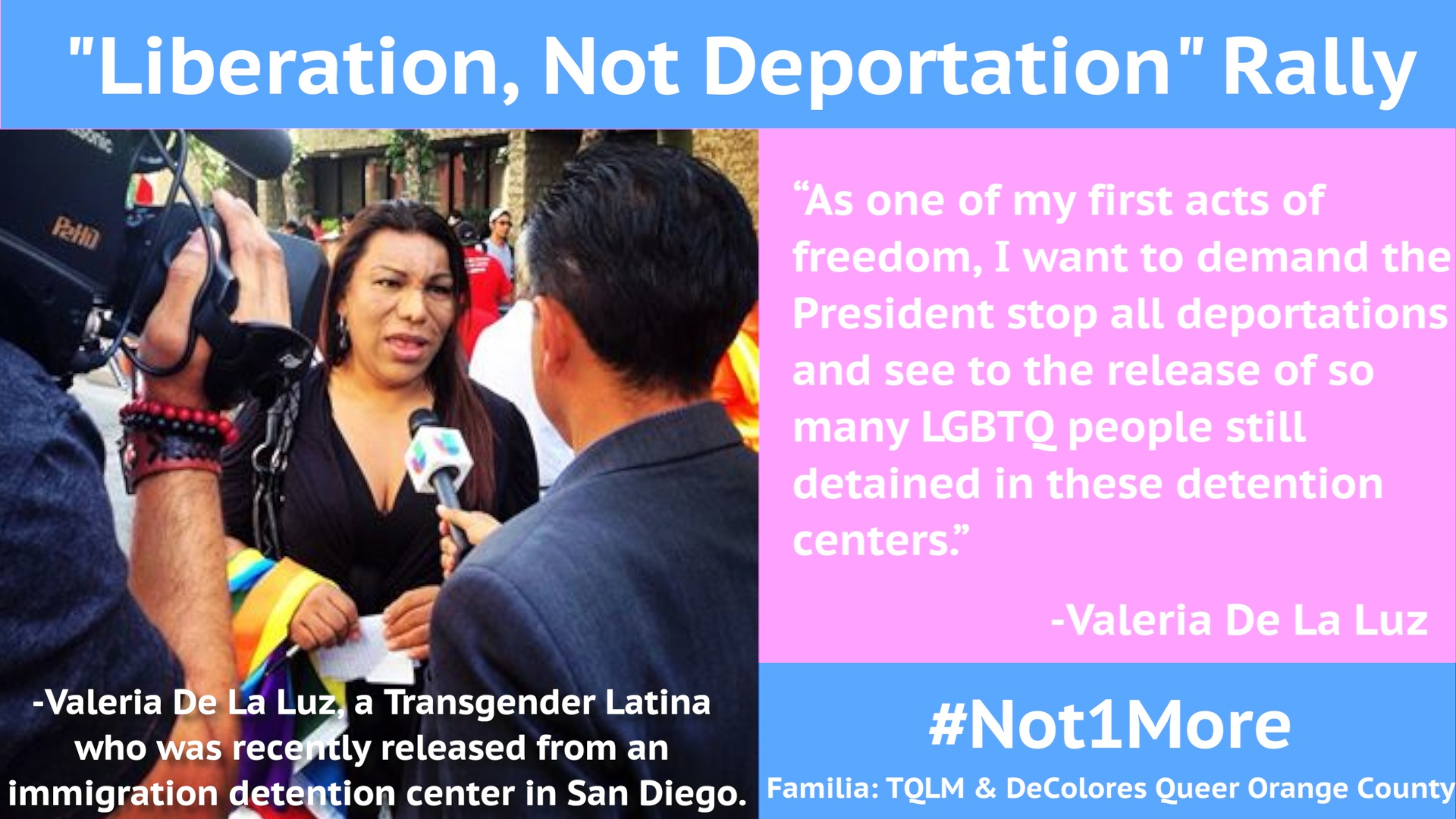 Liberation Not Deportation