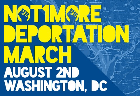 Not1More Deportation March