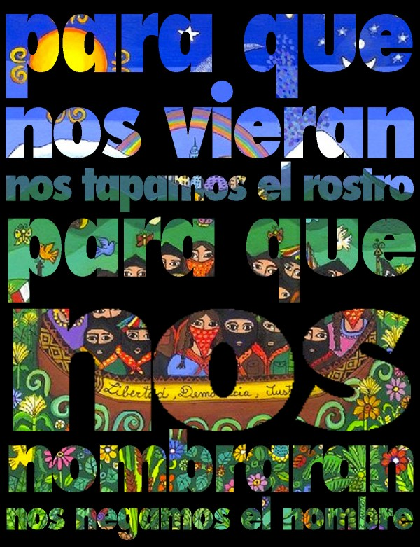 Zapatista saying