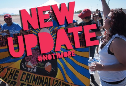 Important News About #Not1More