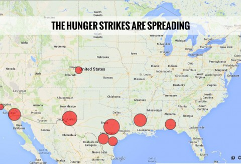 Hunger Strikes Are Spreading in Detention